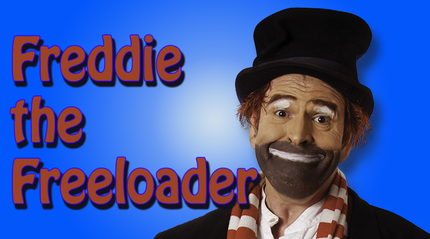 Red Skelton Character, Freddie the Freeloader,Las Vegas Show