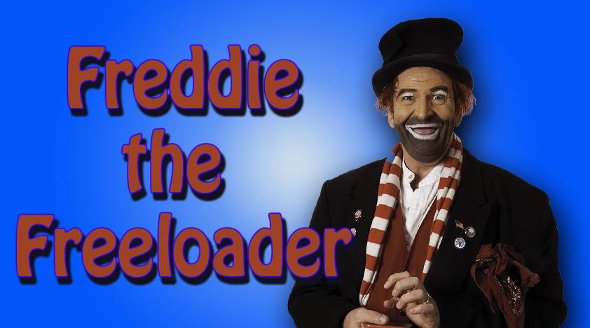 Red Skelton's Freddie the Freeloader character by Brian Hoffman